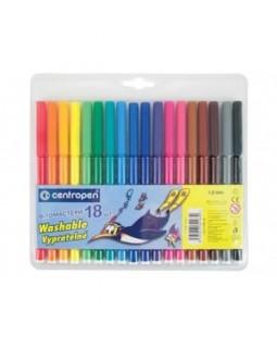 Фломастери 18 кольорів, ТМ Centropen