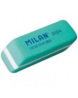 Гумка прямокутна, бірюзова із фаскою, 5,9 х 1,9 х 1,2 см «Soft» TM MILAN