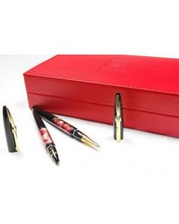 Ручка капілярна, червоний корпус, у картонному пеналі, ТМ Picasso