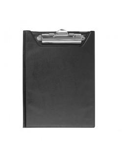 Кліпборд-папка А5, PVC, чорний